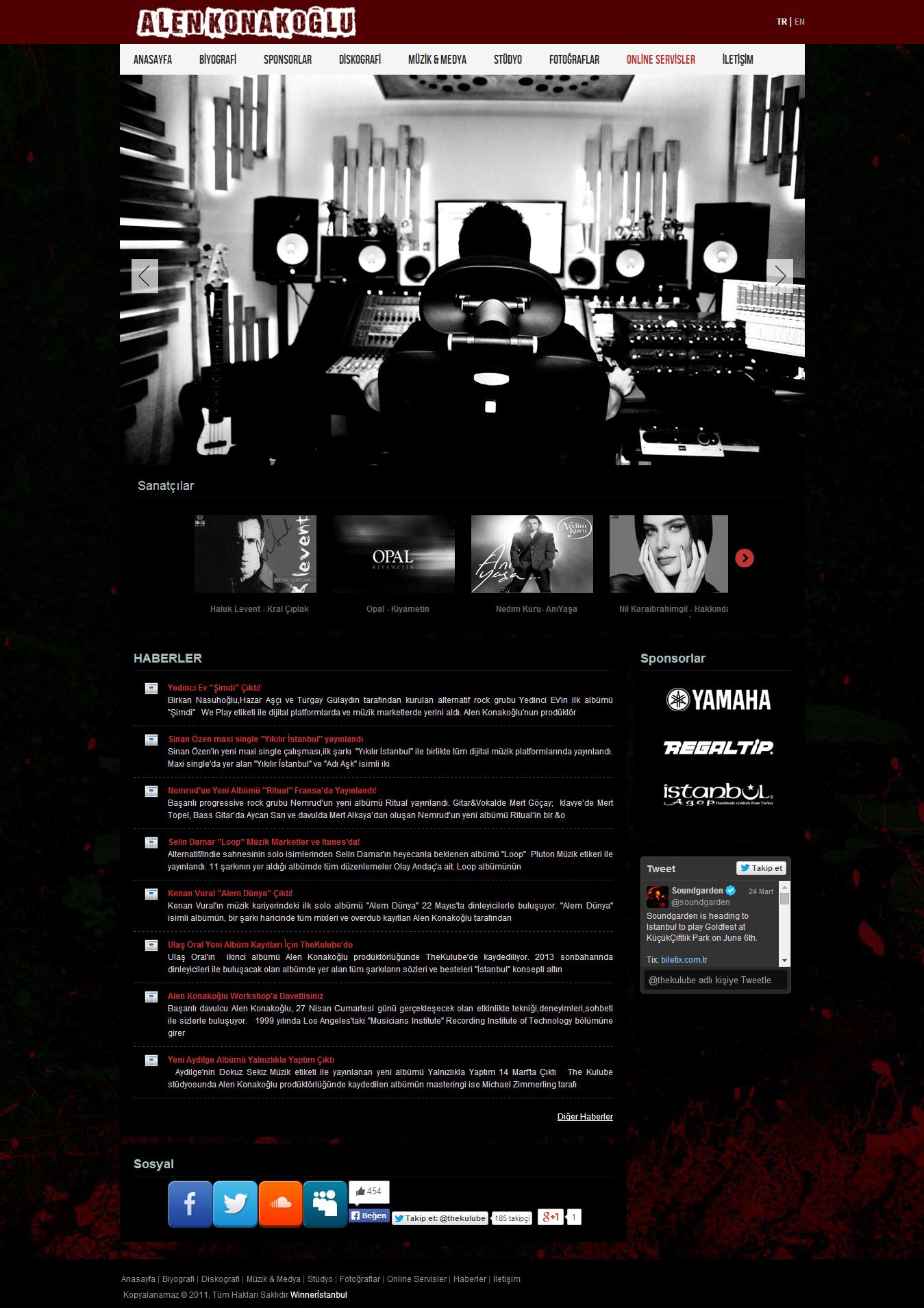 Alen Konakoğlu Web Sitesi