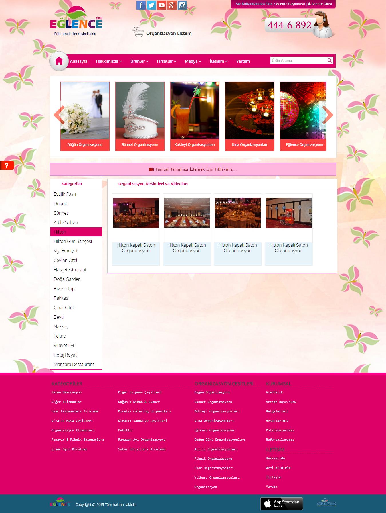 Organizasyon Resimleri ve Videoları