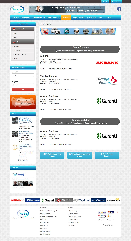Türkiyenin İcra Haritası - Banka