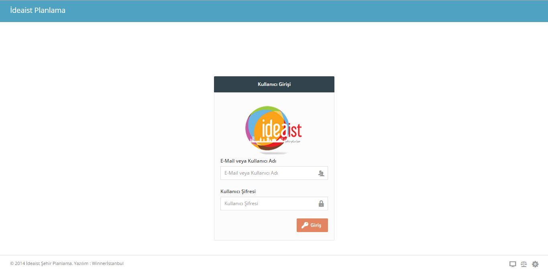 ideaist-proje-login
